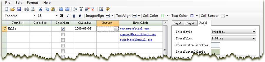 MstGrid - VB6, COBOL, C# & VB NET Grid Control Component